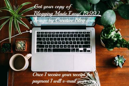 BLOGGING MADE EASIER IMAGE